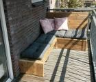 Balkon loungebank Saar Abe