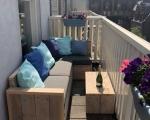 Balkon loungebank Sjaan Margot 5