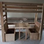 Hoogslaper-bankje-tafel-logeerbed Ella 4