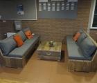 Loungebank zonder armleuning 1