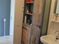 Badkamerkast-sloophout
