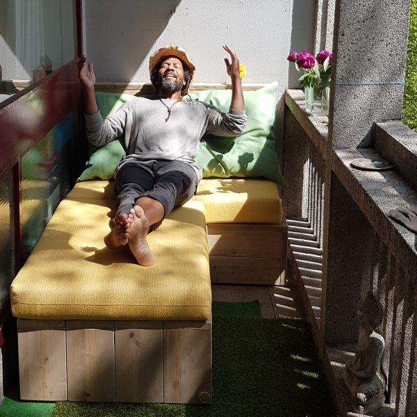 "Balkon loungebank ""Saar"""