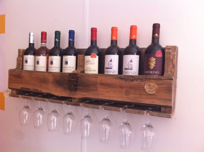 Wonderlijk Wijnrek van sloophout - Op Eigen Houtje Meubels DN-15