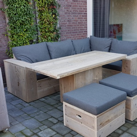 "Lounge dining set ""Linda"""