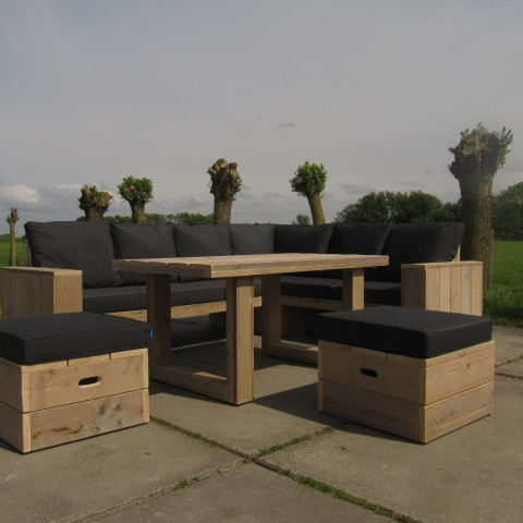 "Lounge dining set ""Joost"""