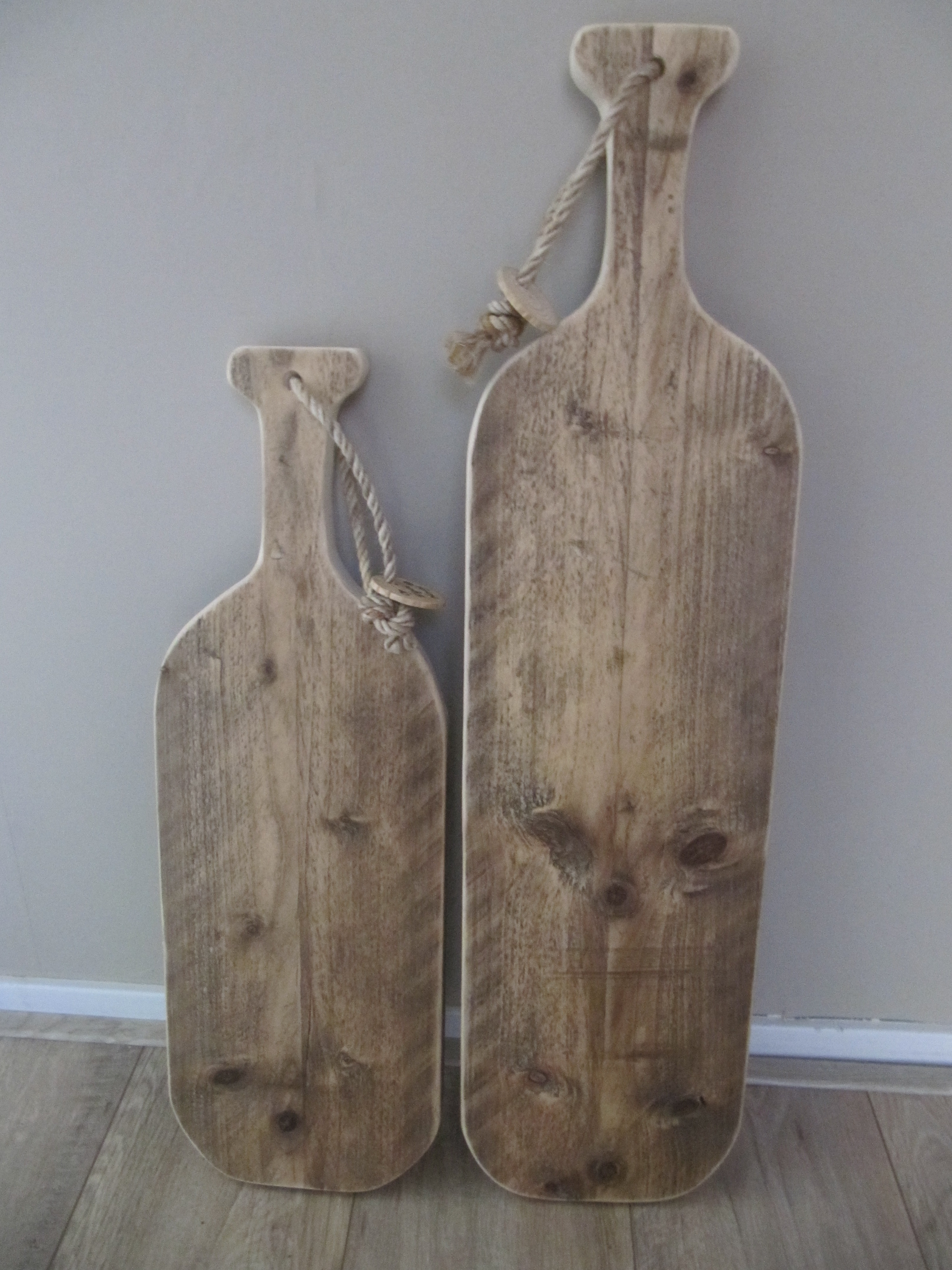 Serveerplank gebruikt steigerhout